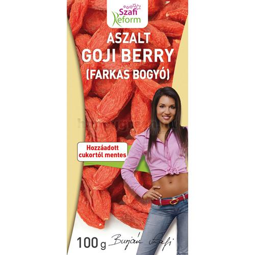 Szafi Reform Aszalt Goji Berry, 100 g