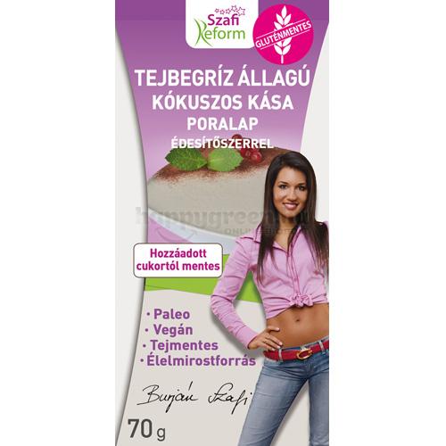 Szafi Reform Diétás Kókuszos Tejbegríz, 70 g