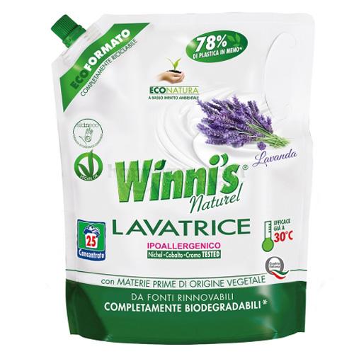 Winni's Mosószer-koncentrátum Levendula Illattal, Utántöltő, 1250 ml