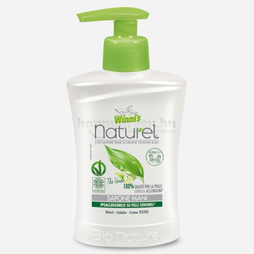 Winni's Naturel Zöld Tea Folyékony Szappan, 250 ml