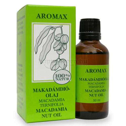 Aromax Makadámdió Olaj, 100%-os, 50 ml