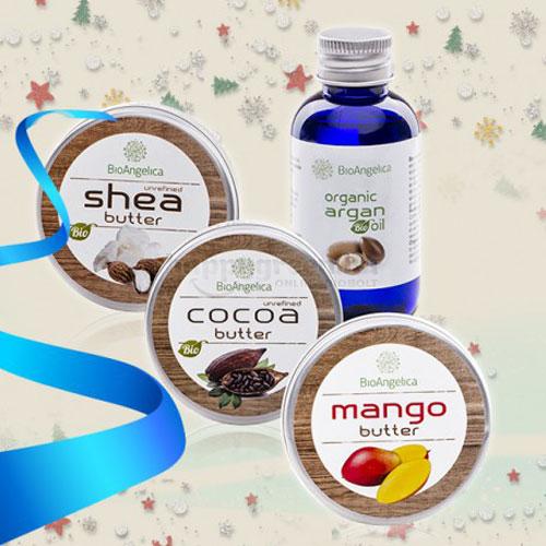 BioAngelica Egzotikus Vajak Karácsonyi Ajándékcsomag
