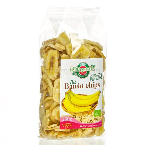 BiOrganik Banán Chips, 250 g