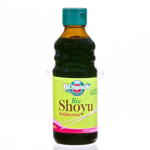 BiOrganik Shoyu Szójaszósz, 250 ml