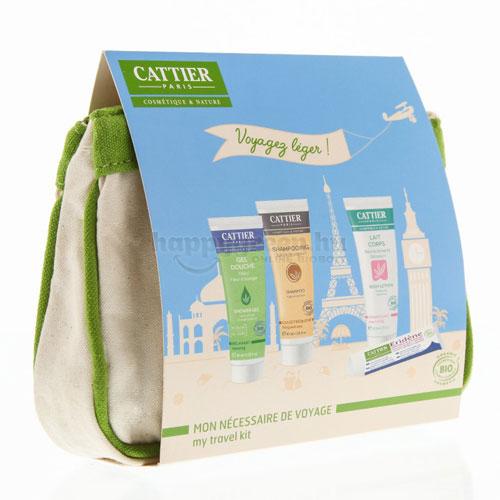 Cattier Utazó Nesszeszer - Testápoló Csomag, 4 Részes