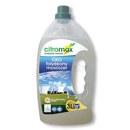 Citromax Folyékony Mosószer, 3000 ml