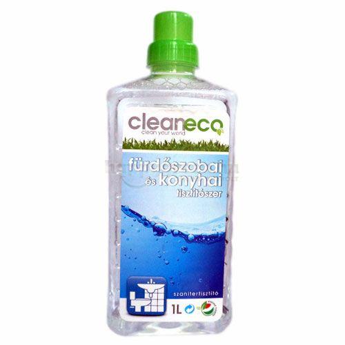 Cleaneco Fürdőszobai és Konyhai Tisztítószer, 1000 ml