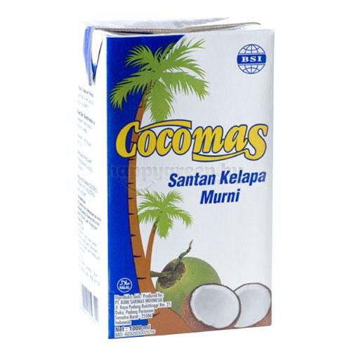 Cocomas Natúr Kókuszkrém, 1000 ml