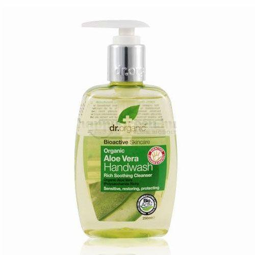 Dr.Organic Folyékony Kézmosó, Aloe Vera, 250 ml