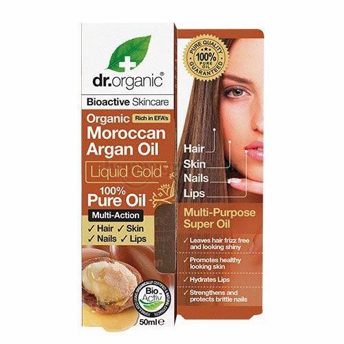 Dr.Organic Argánolaj, 100%-os Tisztaságú, 50 ml