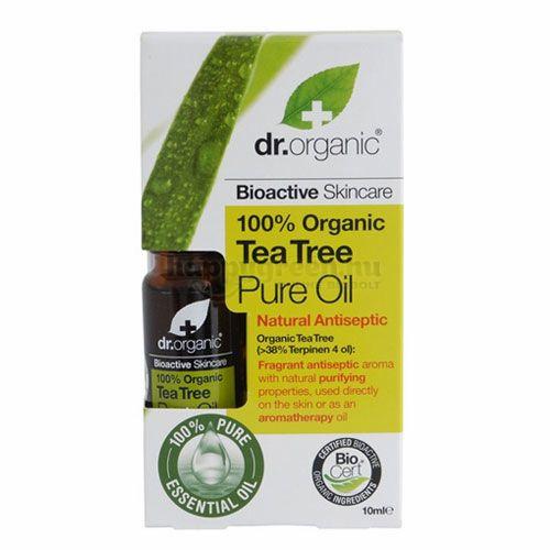 Dr.Organic Teafaolaj, 100%-os, 10 ml