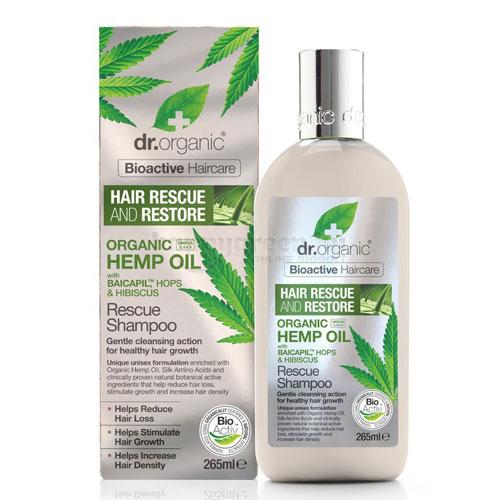 Dr.Organic Hajserkentő Sampon, 265 ml