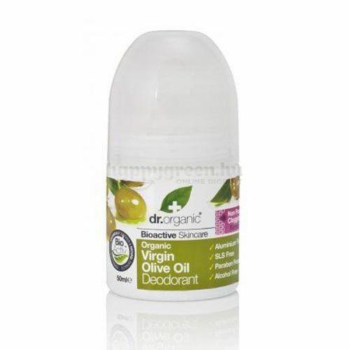 Dr.Organic Olivaolajos Golyós Deo, 50 ml
