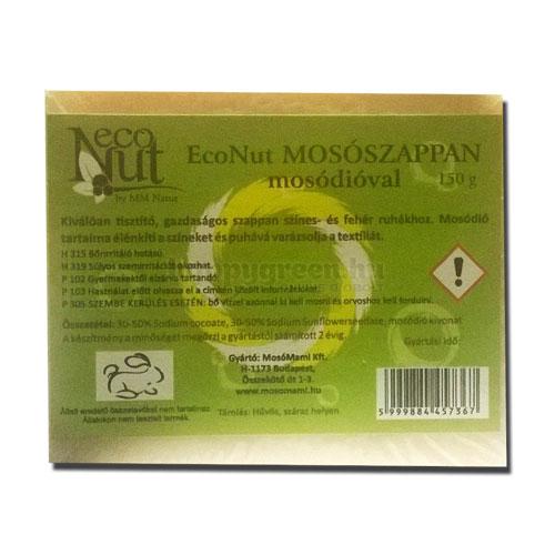 EcoNut Mosószappan Mosódióval, 150 g