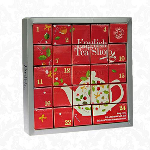 English Tea Shop Adventi Naptár Teaválogatás Pink, 24 db