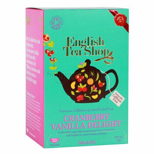 English Tea Shop Tea, Áfonya és Vanília Csoda, 20 db