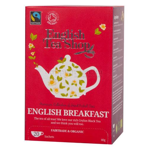 English Tea Shop English Breakfast Tea, 20 db