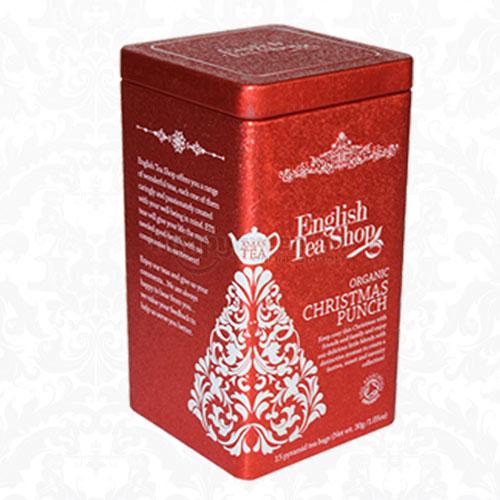 English Tea Shop Karácsonyi Puncs Tea Fémdobozban, 15 db