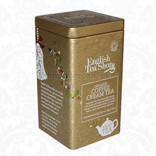 English Tea Shop Karácsonyi Tea Kávékrém Fémdobozban, 15 db