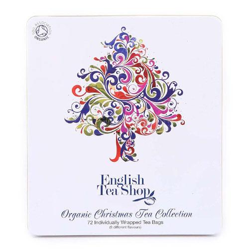 ETS 72 English Tea Shop Fémdobozos Karácsonyi Teaválogatás