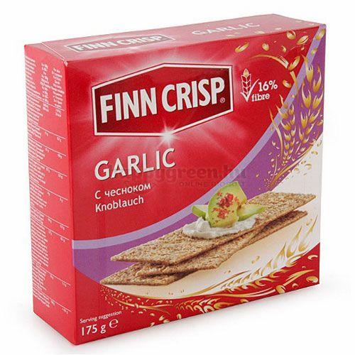 Finn Crisp Rozs Ropogós, Fokhagymás, 130 g