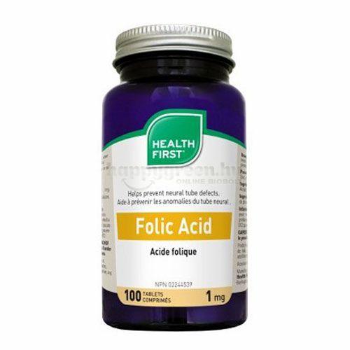 Health First Folsav Tabletta, 100 db