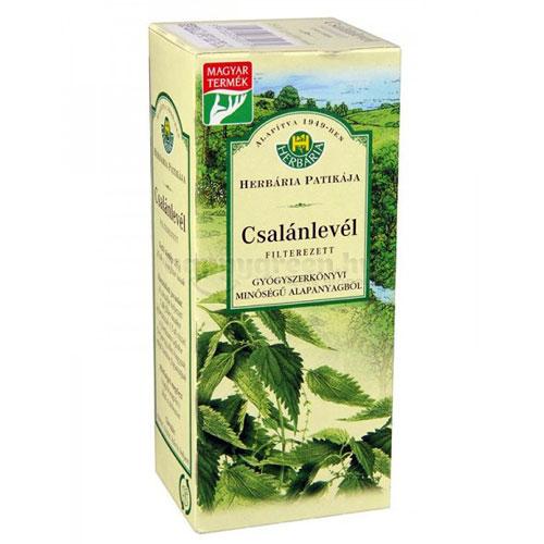 Herbária Csalánlevél Tea, Filteres, 25x1 g