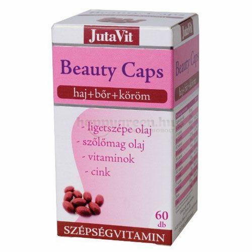 Jutavit Beauty Caps Szépségvitamin, 60 db