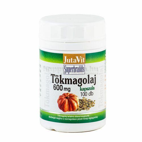 Jutavit Tökmagolaj Kapszula, 600 mg, 100 db