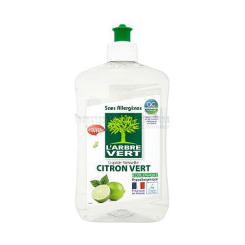 L'Arbre Vert Mosogatószer, Zöldcitromos, 500 ml