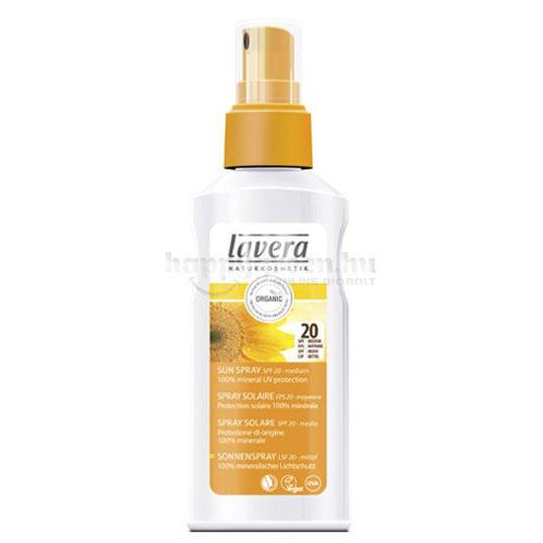 Lavera Sun Napvédő Spray SPF 20, 125 ml