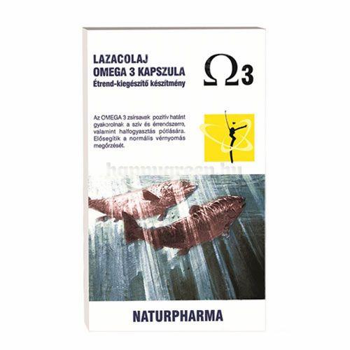 Naturpharma Omega3 Lazacolaj Kapszula, 60 db