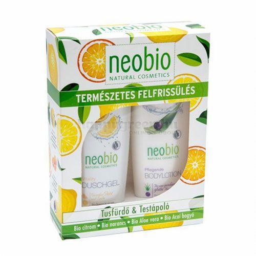 """Neobio """"Természetes Felfrissülés"""" Ajándékcsomag"""