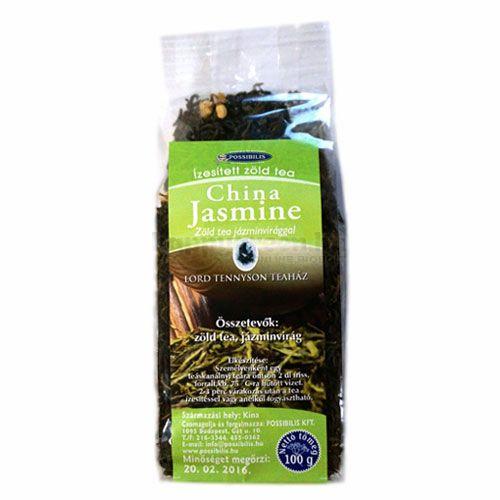 Possibilis Zöld Tea Jázminvirággal, Szálas, 100 g