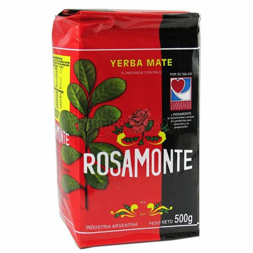 Rosamonte Yerba Mate Tea, Szálas, 500 g