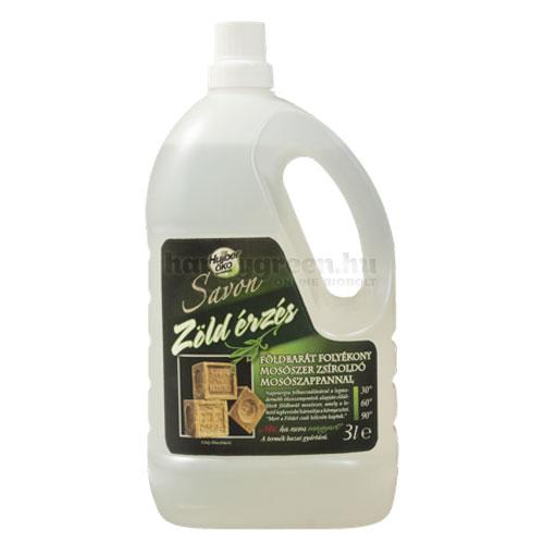 Savon Zöld Érzés Folyékony Mosószer, 3000 ml