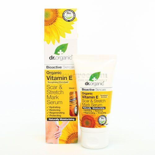 Dr.Organic E-vitaminos Szérum, 50 ml