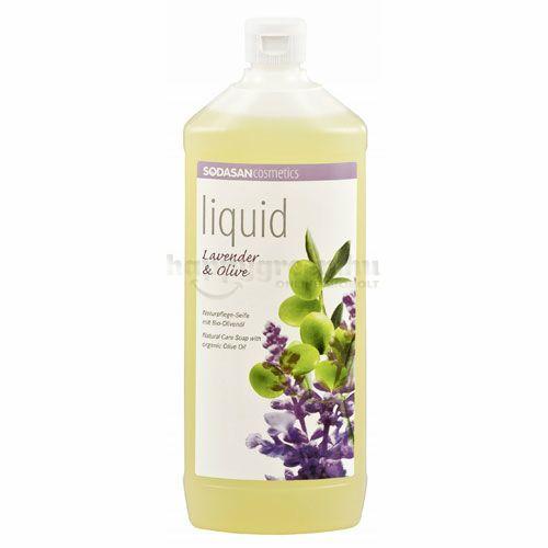 Sodasan Folyékony Szappan, Levendula-Oliva, 1000 ml