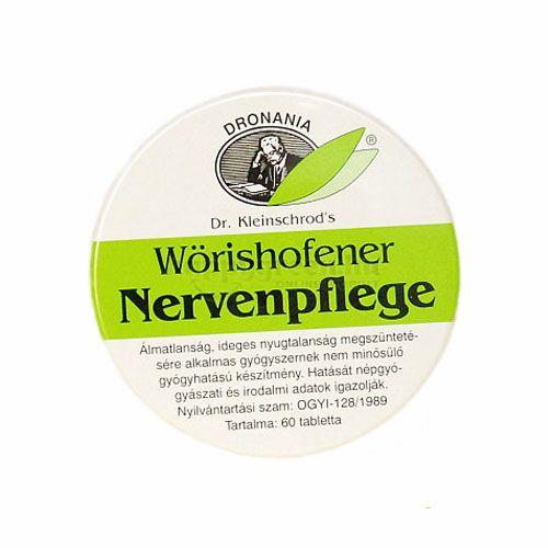 Wörishofener Nervenpflege Tabletta, 60 db
