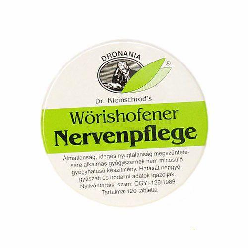 Wörishofener Nervenpflege Tabletta, 120 db
