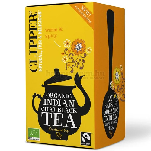 Clipper Bio Indiai Chai Tea, 20 db