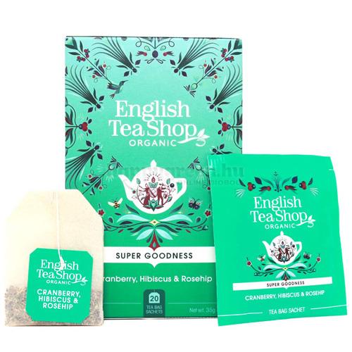 ETS 20 English Tea Shop Áfonyás Hibiszkusz és Csipkebogyó Szupergyümölcs Tea
