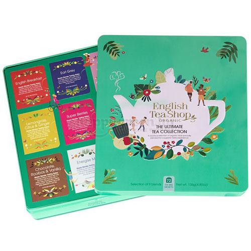 ETS 72 English Tea Shop Klasszikus Teaválogatás Fémdobozban