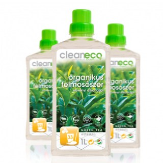Cleaneco Organikus Felmosószer Green Tea Herbal Illattal, 1000 ml