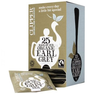 Clipper Bio Earl Grey Tea, 25 db
