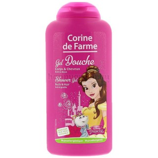 Corine de Farme Disney Princess Tusfürdő és Sampon, 250 ml