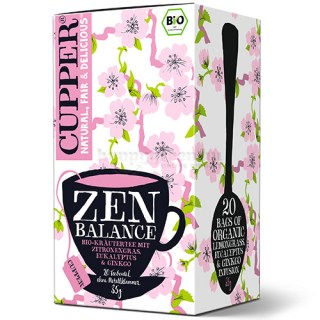 Cupper Bio Zen Balance Tea, 20 db