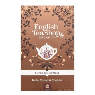 ETS 20 English Tea Shop Mate, Kakaó és Kókusz Superfood Tea