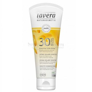 Lavera Sensitive Sun Napvédő Krém SPF 30, 75 ml