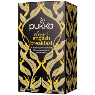 Pukka Elegant English Breakfast Tea, 20 db